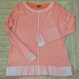 PURE AMICI peach 100% cashmere sweater size S